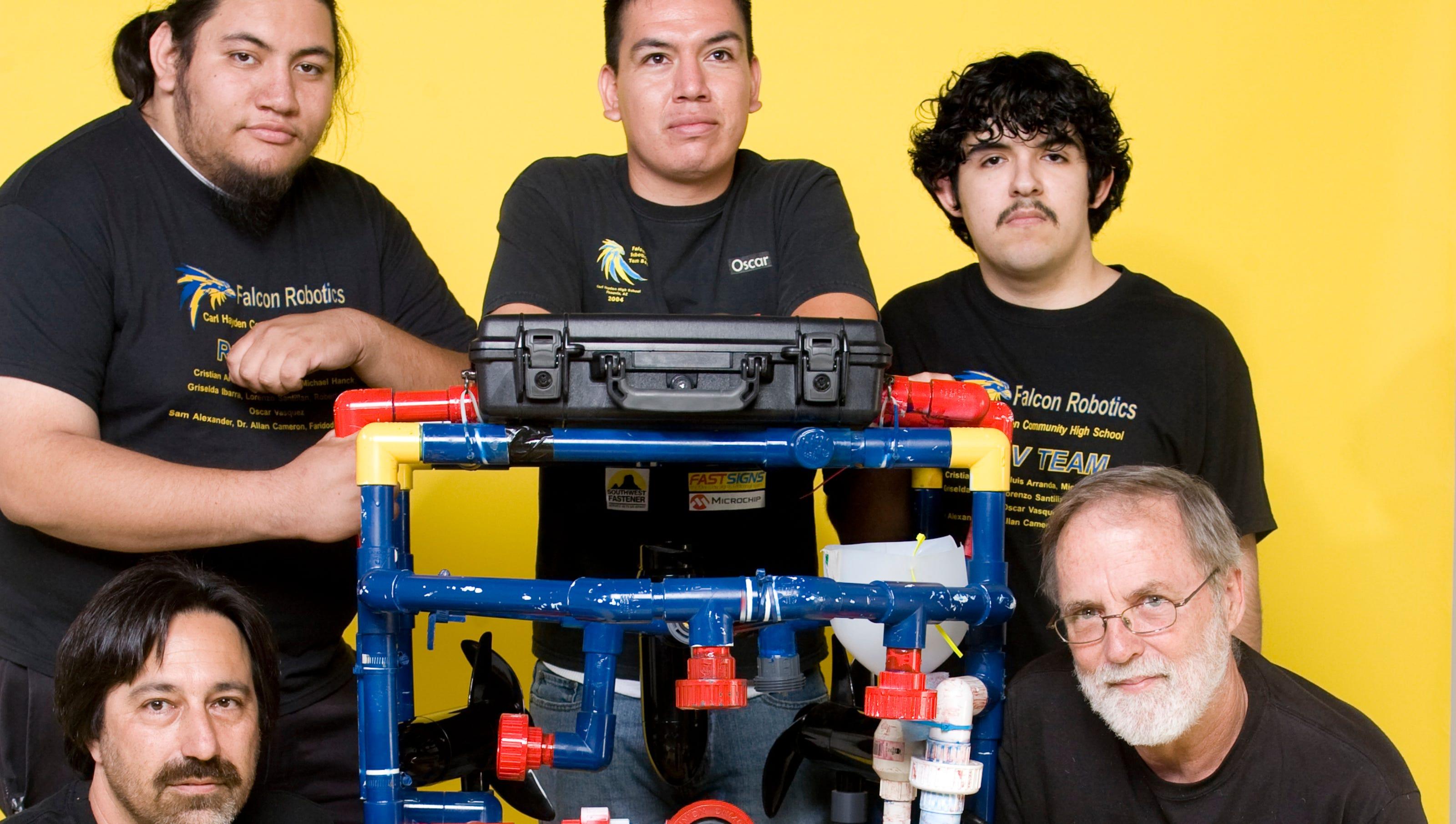 Hispanic Heritage Honors Aguilar Hayden Robotics Team