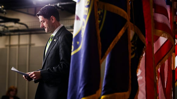 House Speaker Paul Ryan announces that he has pulled