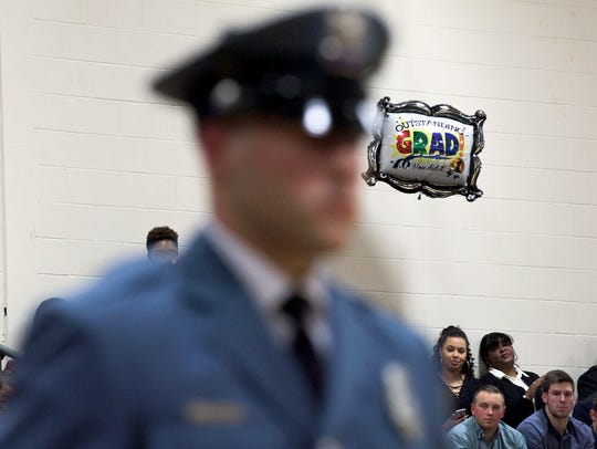 Vineland police officer Anthony Torres is seen in the