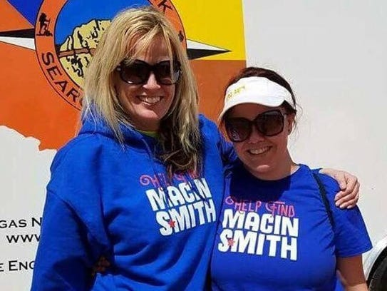 From left, Tracey Bratt-Smith and TaeLynn Johnson.