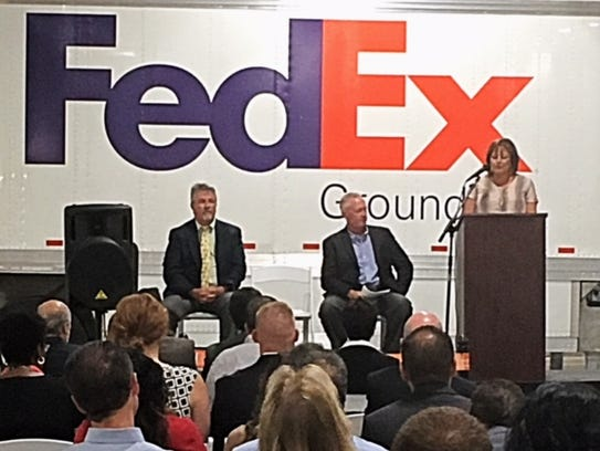 New Mexico Gov. Susana Martinez speaks during Wednesday's
