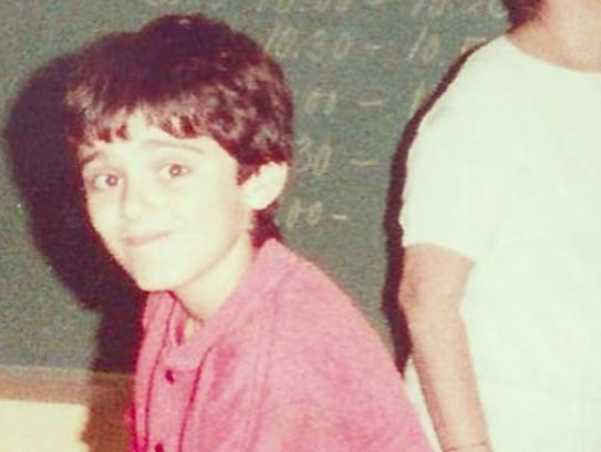 Gary Vaynerchuk in the classroom in Edison, circa 1987.
