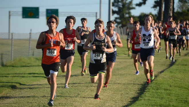 The West Tennessee Fall Classic Cross Country Race was held Tuesday, September 20, 2016.