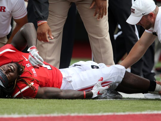 A moment Rutgers would like to forget--Grant prone