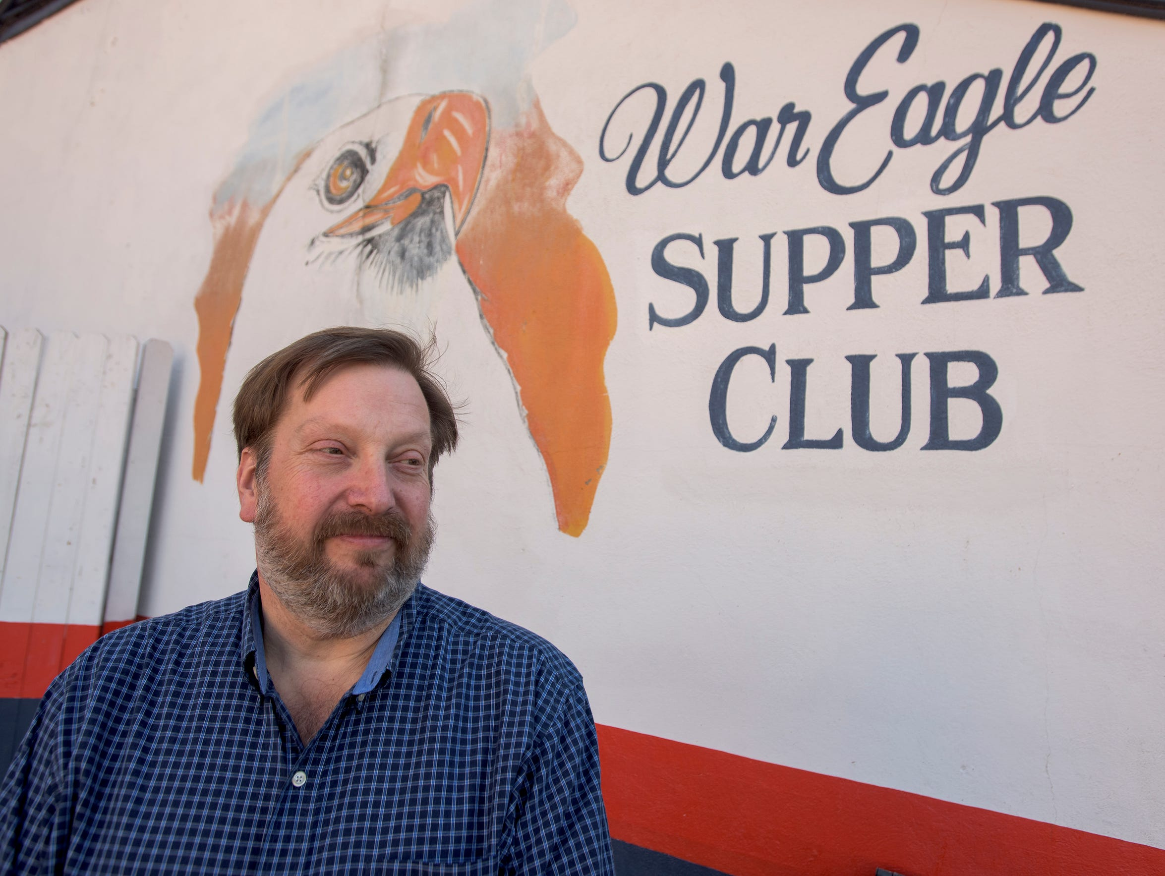 John Brandt, co-owner of the War Eagle Supper Club