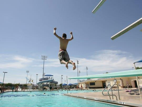 The Surprise Aquatic Center is a recreational asset