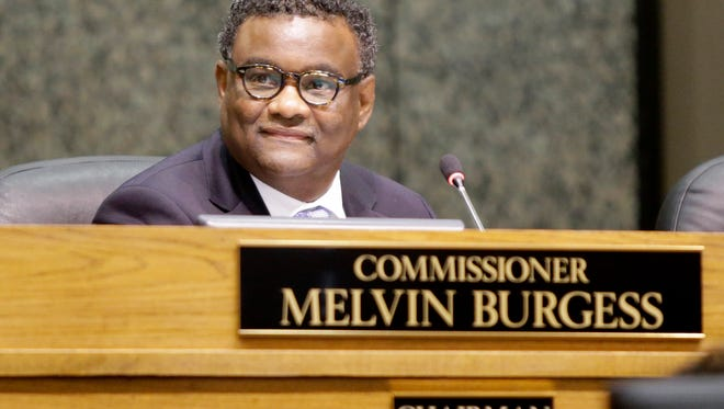 September 12, 2016- Shelby County Commission chairman Melvin Burgess during a recent meeting. (Nikki Boertman/The Commercial Appeal)