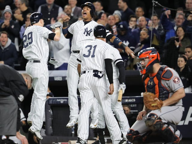 brand new fb633 43186 New Jersey's Todd Frazier makes huge Yankees mark in playoffs