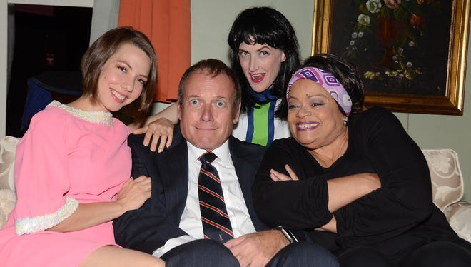 """A middle-aged man turns to three different women to ease his mid-life crisis in Desert TheatreWorks' production of """"Last of the Red Hot Lovers."""""""