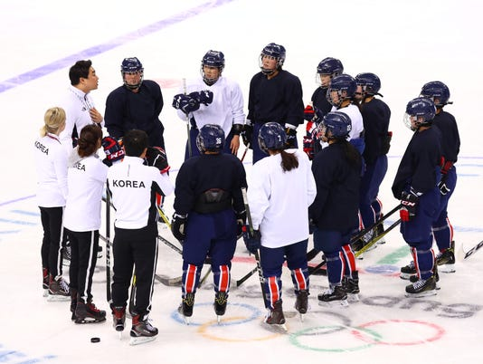Olympics: Women's Ice Hockey Training