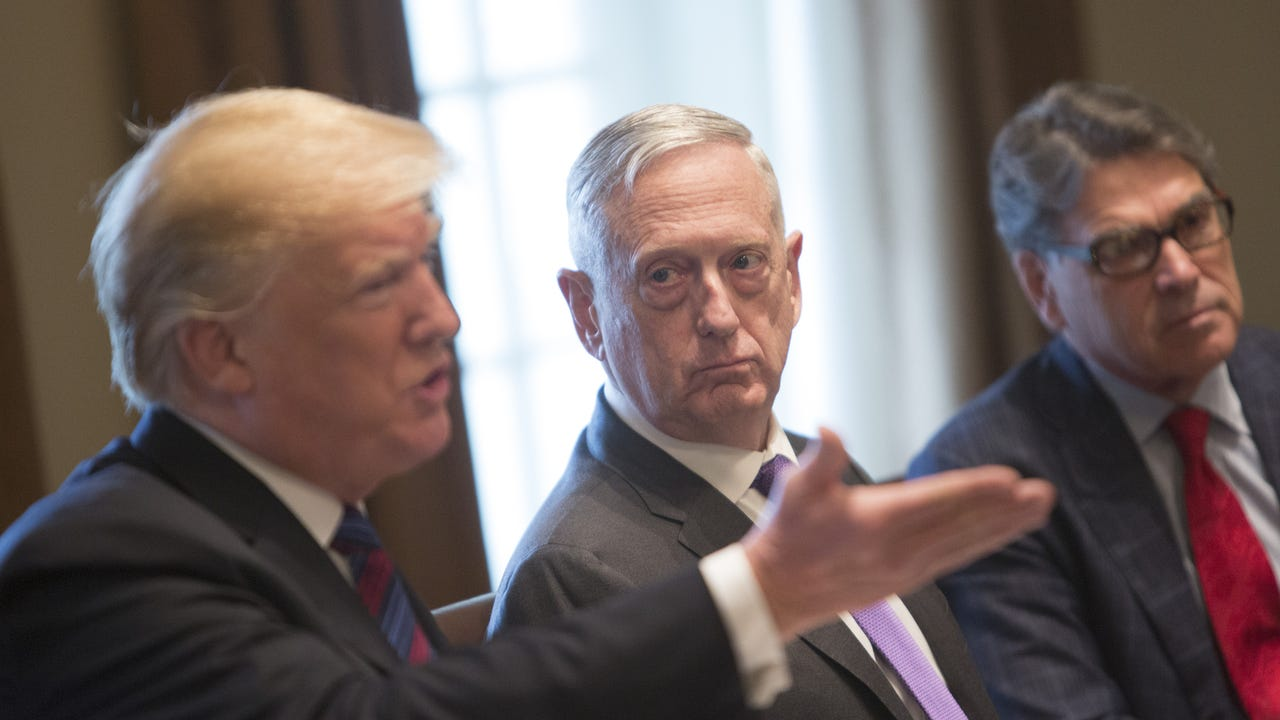 Before meeting with German Federal Minister of Defense Ursula von der Leyen, U.S. Secretary of Defense James Mattis commented on immigration policy, President Donald Trump's announcement of a Space Force, and U.S. relations with the Koreas. (June 20)