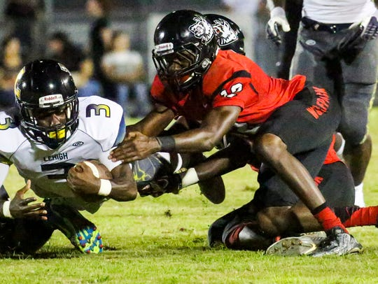 Lehigh Senior High School senior quarterback Delshawn Green is one of the most underrated players in Lee County heading into the 2018 season.