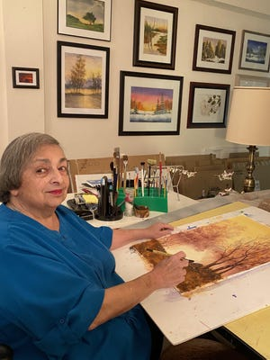 Ann Morey created a fund that will grant one or more annual scholarships to seniors in Delaware Valley, Wallenpaupack and Port Jervis high schools who plan to major in fine or applied art.