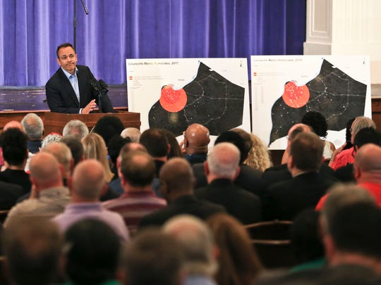 Gov. Matt Bevin told the audience of around 400 that