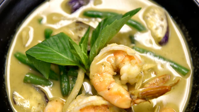 "District Thai's Thai green curry is shown Thursday, Oct. 13, 2016, in North York. Located in the former School of Culinary Arts' student-run restaurant building, District Thai is the first restaurant Sopon ""Tom"" Sarobon has opened."