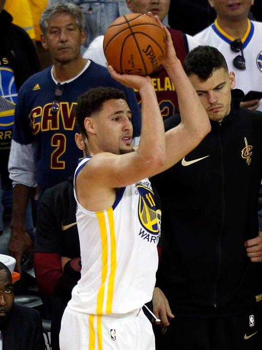 NBA Finals: Klay Thompson's impressive streak in serious jeopardy