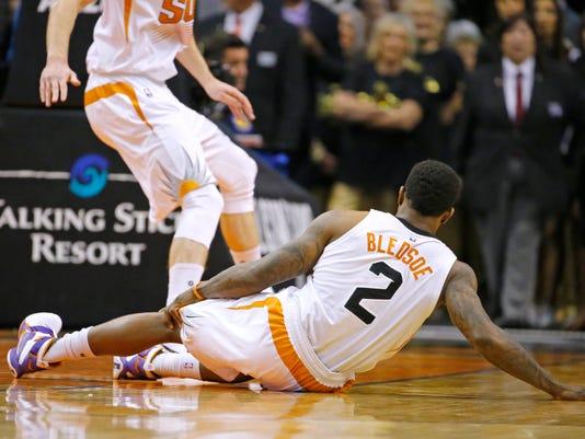 76'ers vs Suns 2015