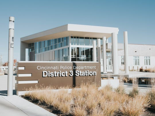 The new District Three police station in Westwood has