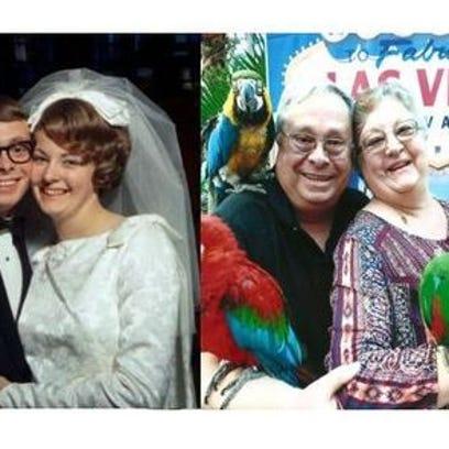 Anniversaries: Peter Sherry & Charlene Sherry