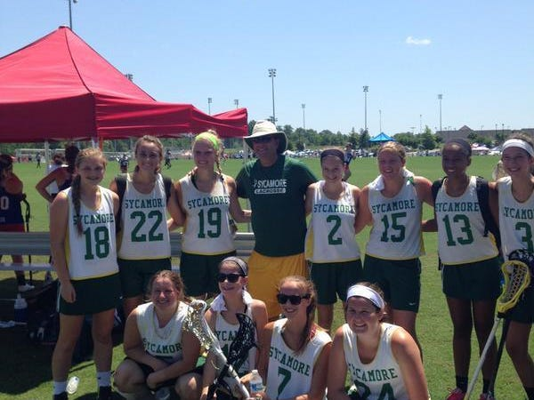 The Sycamore girls lacrosse team recently played an all star tournament in Richmond, Virginia.