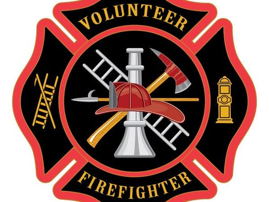 volunteer firefighter stock