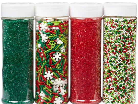 Sparkly and colorful, consider these the must-have accessories that dress your baked goods up for the holidays.