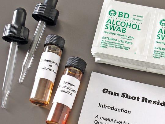 Gun Shot Residue Test Kit