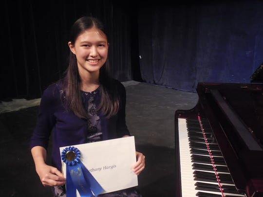 """2014 winner of Brevard's Got Music Talent, Bethany Hargis, will play the piano during """"Music on the Hill"""" on January 31.  The Suntree concert will feature three young prodigies and is sponsored by the Creative Arts Foundation of Brevard."""