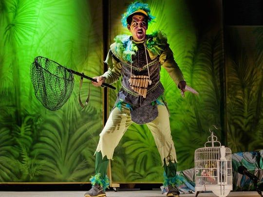 "Opera Naples' 2013 production of Mozart's ""The Magic Flute"""