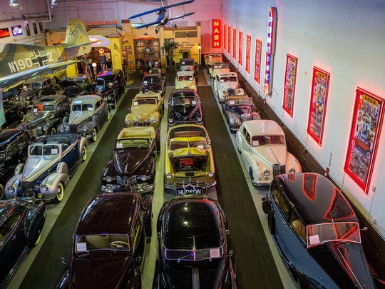 Klairmont Kollections consists of over 300 cars spanning over a century of automotive history in a non-descript building on Chicago's northwest side.