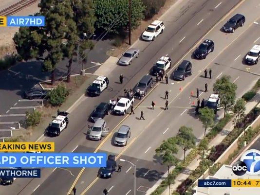Police Officer Shot