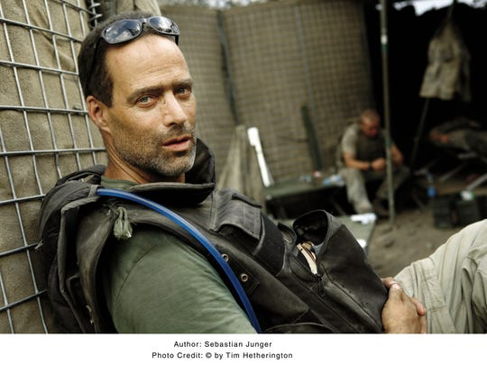 """Sebastian Junger, author of  """"The Perfect Storm,"""" will give the keynote speech  Sept. 30 during the Morristown Festival Of Books."""