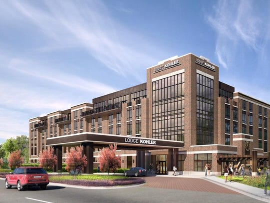 Lodge Kohler, a 150-room four-star hotel, will be built west of Lambeau Field in the Titletown District.