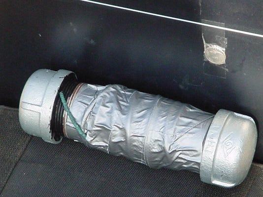 Pipe bomb file photo