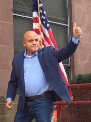 "Mayoral candidate Francisco ""Frank"" Moran shows optimism"