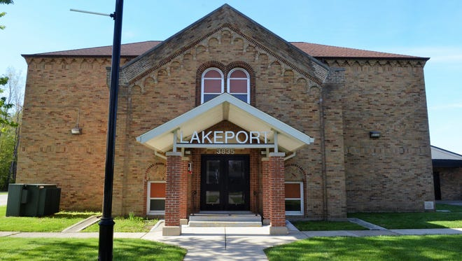 The Port Huron Area School District has taken a step toward the possible sale of the old Lakeport Elementary School building.
