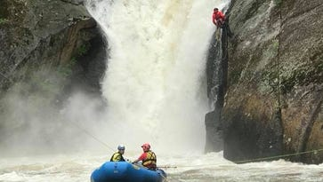 Elk River Falls drowning victim identified, search temporarily suspended