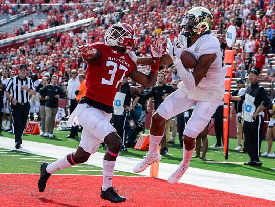 NCAA Football: Purdue at Rutgers