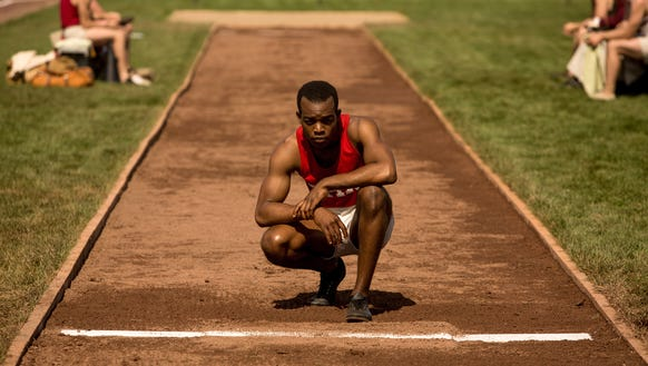 Stephan James worked hard on his running form to play