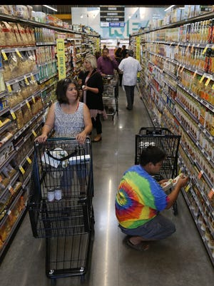 El Paso's state sales tax rebates for August sales increased 3.5 percent compared to the same time a year ago, a new report shows.