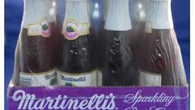 S. Martinelli & Company has issued a voluntary nationwide recall for specific lots of 8.4-ounce mini-glass bottles of Gold Medal Sparkling Cider due to the possibility of small glass chips at the top of the bottles occurring when opening the bottle. The lots include: Gold Medal Sparkling Cider; Sparkling Cider Northwest Blend; Sparkling White Grape; and Sparkling Red Grape.