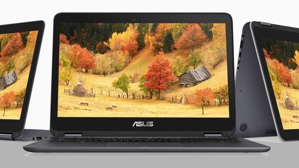 The Asus ZenBook Flip 2-in-1 laptop
