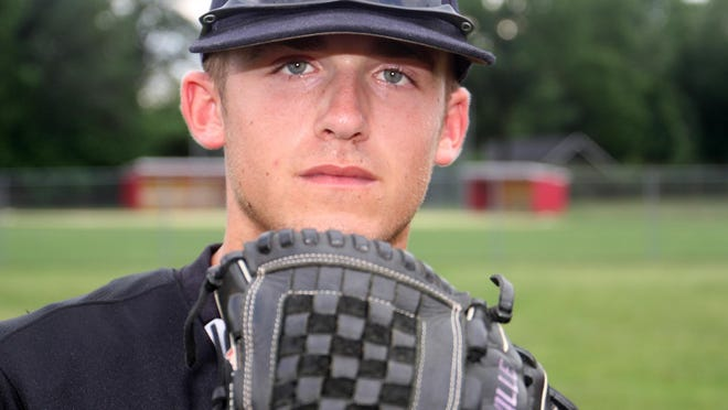 Home News Tribune All-area baseball player Eric Heatter of Monroe, Monday, June 15, 2015, in Edison, NJ.