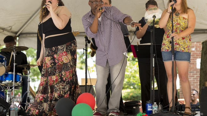The Jeff Love Band performs Saturday afternoon at the Southside Community Center Festival.