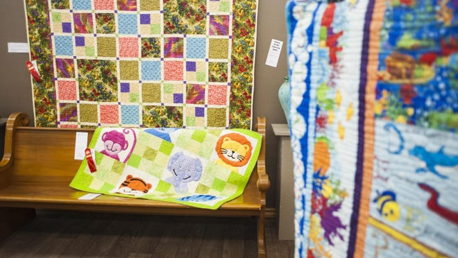 Place mat-sized to king-sized quilts are part of the Winter Fair Quilt Show at the Lewistown Art Center.
