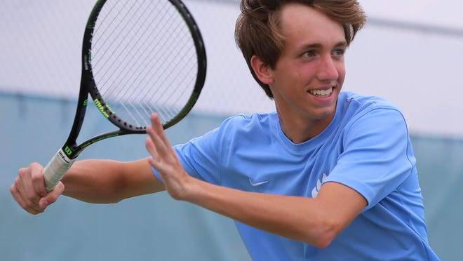 USJ's Cade Reasons helped lead the Bruins to the Division II-A team title.