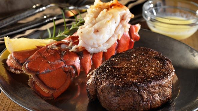 For Valentine's Day, several Reno restaurants are offering surf and turf, a classic pairing for special-occasion meals.