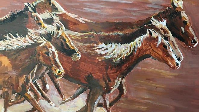 Horse Herd.