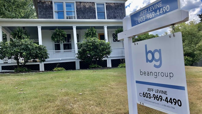 A home for sale on Washington Street in Dover this week.