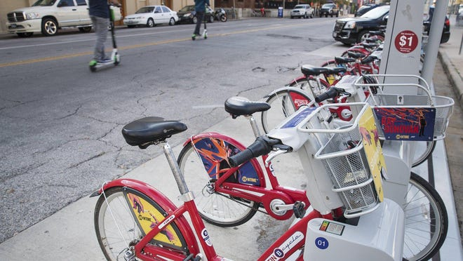 Austin B-Cycle since 2013 has supplied bicycles for the city's ride-share program. On Thursday, Austin City Council members approved the purchase of 325 electric bicycles through B-Cycle after a pilot program showed riders preferred the electric model to traditional bikes.